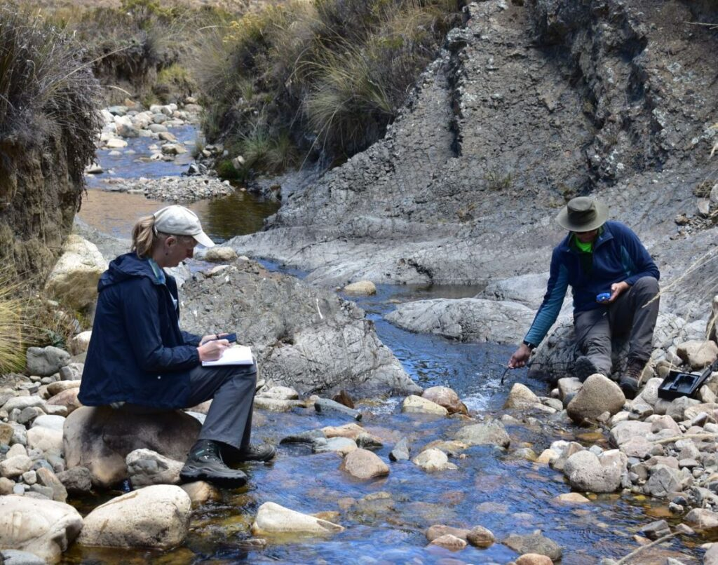 Hydrological research in Peruvian Andes