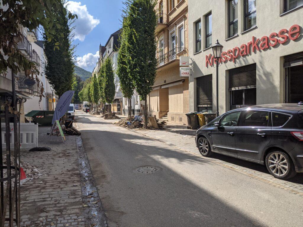 Bad Neuenahr-Ahrweiler after the July 2021 floods