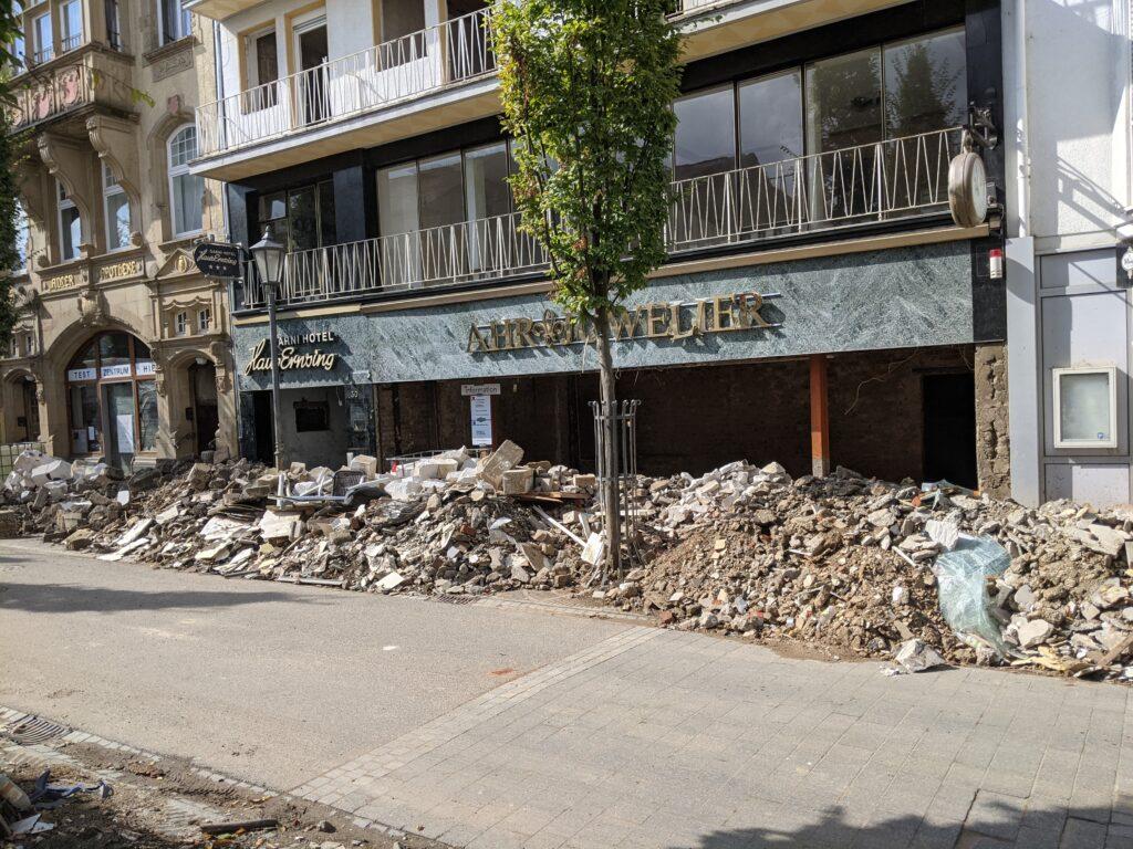 Town of Bad Neuenahr-Ahrweiler ravaged by floods